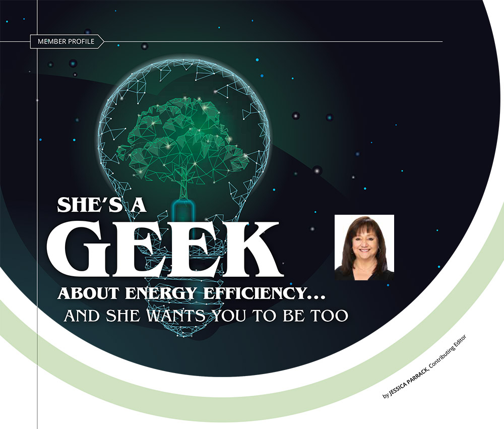 """Featured image for """"She's a Geek About Energy Efficiency and She Wants You to Be Too"""""""